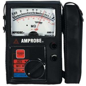 Amb 3 Insulation Computers Accessories Resistance Tester