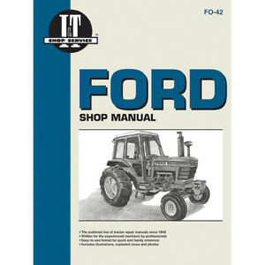 Service Manual Ford New Holland Tractor Fo 42 5100 5200 5600 5610 6600 6610