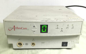 Arthrocare System 2000 Electrosurgical Esu Console W Footswitch Foot Control