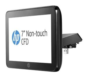 New Hp Rp9 Integrated 7 Non touch Usb Customer Display Top With Arm P5a56aa