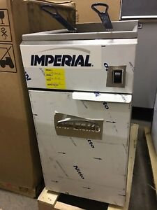 Open Box Imperial Ifs 40 e Full Pot Fryer W Electrical Elements 40 Lb Capacity