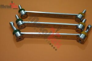 Drill Guide Set Of 3 Pcs Surgical Orthopedic Instruments By Mti