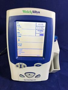 Welch Allyn Spot Vital Signs Lxi Portable Patient Monitor 450t0