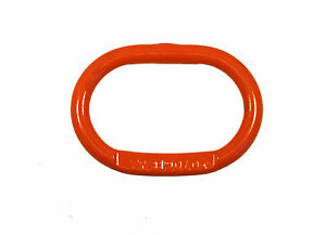 1 Cartec Oblong Master Link Ring Grade 100 Lifting Chain Sling Replacement