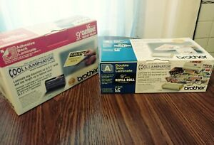 lot Brother 9 Cool Laminator Lc a9 Cartridge With Film And Lc d9r Refill