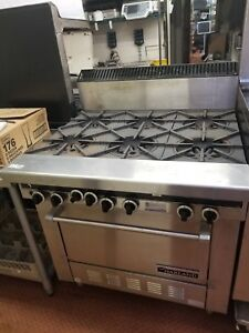 Garland Sentry Series 36 Gas Range With Oven And Electronic pilotless Ignition