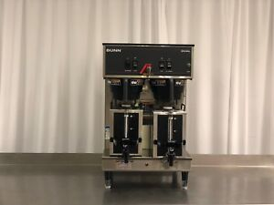 Used Bunn 20900 0008 Dual Portable Coffee Brewer 16 3 Gallons Per Hour Capacity