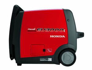 2018 Honda Eu3000i Handi Inverter Generator Super Quiet Portable 30 Amp New