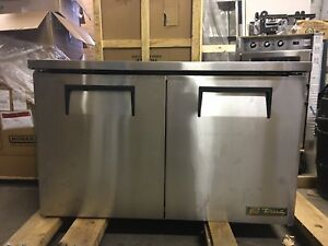 scratch Dent True Tuc 48 Two Door Undercounter Refrigerator