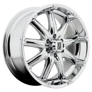 2 18x9 18 6x139 7 Xd Xd779 Badlands Chrome Wheels rims 18 Inch 57841