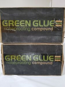Case Of Green Glue Noiseproofing Compound Pack Of 12 Tubes