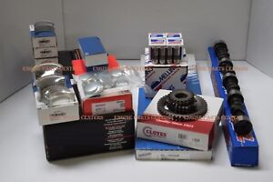 Chevy 283 Stage 2 Master Engine Kit K b Pistons Cam Timing Moly 1964 67