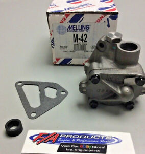 Ford Y Block 1955 To 1964 V 8 272 292 312 Engines Oil Pump Stock Melling M 42
