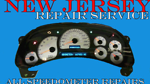 2003 To 2006 Chevrolet Avalanche Cluster Software Odometer Calibration Service