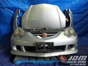 02 04 Honda Integra Acura Rsx Type r Dc5 Silver Front End Conversion Jdm K20a 1
