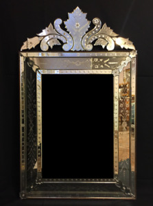 Venetian Mirror Og Antique Great Condition Free Shipping New Price
