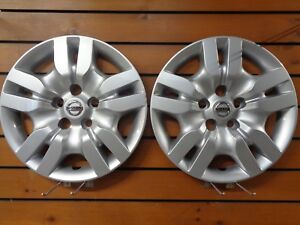 Pair Of 2 New 16 Bolt On Hubcap Wheel Cover 2009 2012 For Nissan Altima 53078
