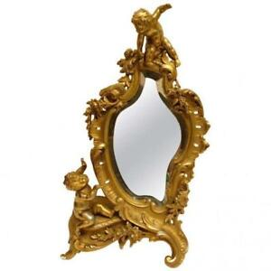 French Jewelers Or Dressing Table Mirror
