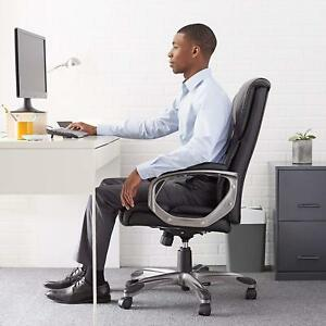 Executive Chair Office Desk Work Home Comfortable High Back Padded Height Adjust