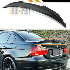 For 2006 11 Bmw E90 3 Series M3 Sedan Duckbill Carbon Fiber Trunk Spoiler Wing