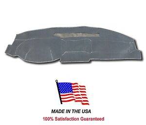 Gray Carpet Dash Mat Compatible With 1999 2004 Jeep Grand Cherokee Dash Cover
