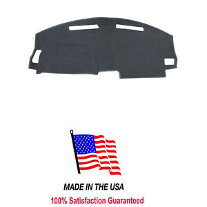 Charcoal Dash Mat Compatible W 2008 2014 Dodge Challenger Dash Cover Usa Made