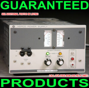 Kepco Ate 100 2 5m 0 100v 0 2 5a Variable Regulated Metered Dc Lab Power Supply