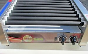 Apw Wyott Hrs 31s Hot Dog Slanted Roller Grill Nathans Famous New