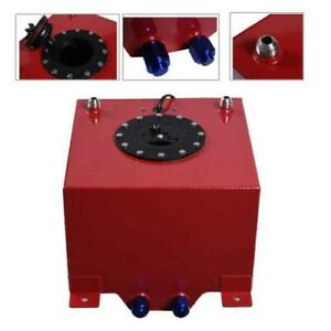 5 Gallon Racing Drift Aluminum Fuel Cell Tank With Level Sender Anti Slosh Foam