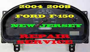 04 05 06 07 Ford F150 Truck Suv Cluster Software Odometer Calibration Service
