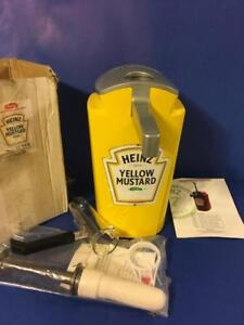 Heinz Keystone Dispenser Mustard Item 8970 New In Box Jug Pump
