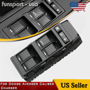 Master Power Window Switch Driver Side Front For Dodge Avenger Caliber Charger