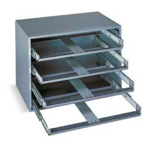 4 Drawer Metal Cabinet Slide Rack Storage Tray