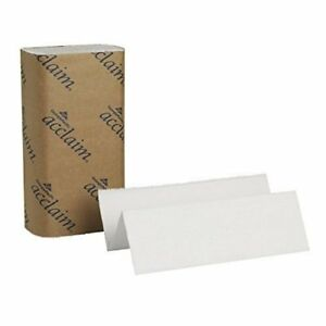 Georgia Pacific Acclaim 20204 White Multifold Paper Towels 16 case great Value