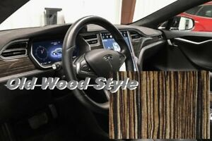 10m 19x393 Old Wood Style Hydrographics Dipping Film Water Transfer Printing