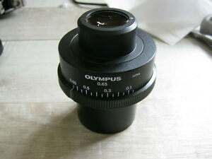 Olympus 0 65 Condenser For Bh3