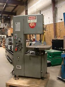 18 Grob Vertical Band Saw