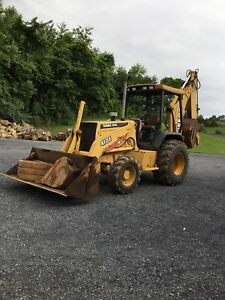 John Deere 410e Backhoe With Extendahoe 4x4