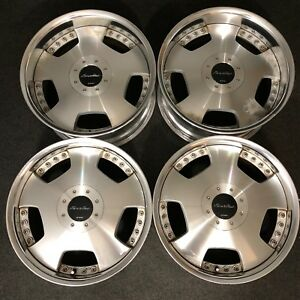 Work Euroline 18 Jdm Wheels 18x8 9 45 38 4 5x114 3 Staggered Vip Acura Lexus