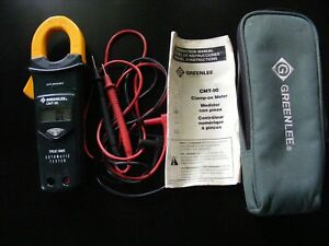 Greenlee Cmt 90 Digital Clamp Meter Trms
