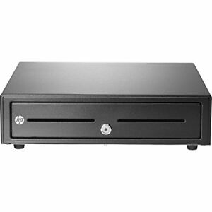 New Hp Standard Duty Usb Cash Drawer 5 Bills 5 Coins 2 Keys Usb E8e45aa aba
