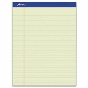 Ampad Pastels Pads Legal Green Tint 12 50 sheet Pads pack top20375