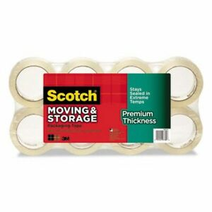 Scotch Moving Storage Tape Premium Thickness 8 pack mmm3631548