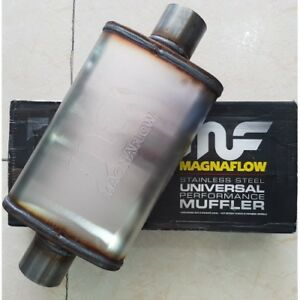 Magnaflow 3 Inch Inlet Outlet 5x8 Oval 11219 Muffler Stainless Steel