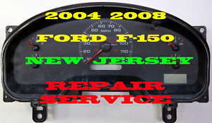 2004 To 2008 Ford F150 Instrument Cluster Software Odometer Calibration Serv