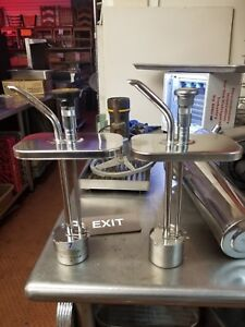 Stainless Steel Condiment Syrup Pump Unknown Make model