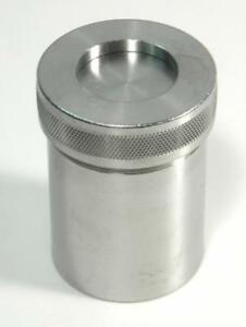 Spex 8007 Stainless Steel Grinding Vial Set For 8000 Mixer mill
