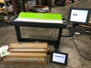 Hp Designjet 4500 42 Wide Scanner q1277a With Many Valuable Extras