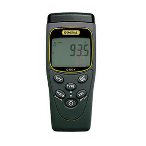 General Dt801 Economical Type K j Thermocouple Thermometer