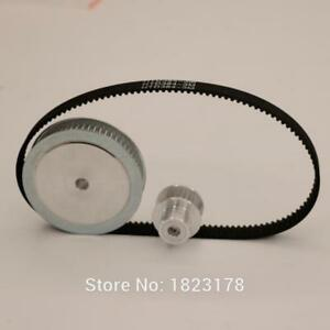 3m Gt2 60 20 Teeth Bore 8 5mm Belt Width Timing Belt Pulley Reduction Ratio 1 3